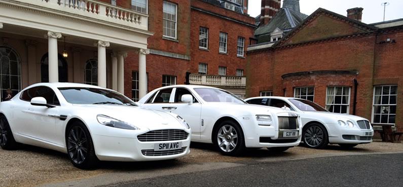 Aston Bentley Ghost Wedding Fleet