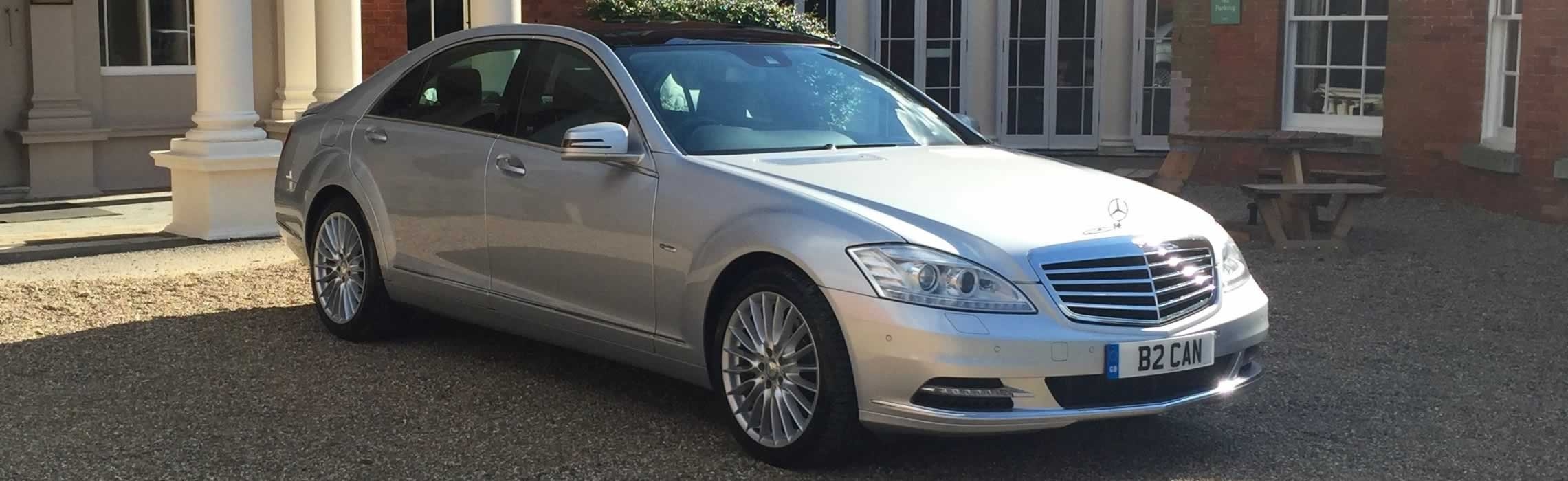 Mercedes S-Class hire in London