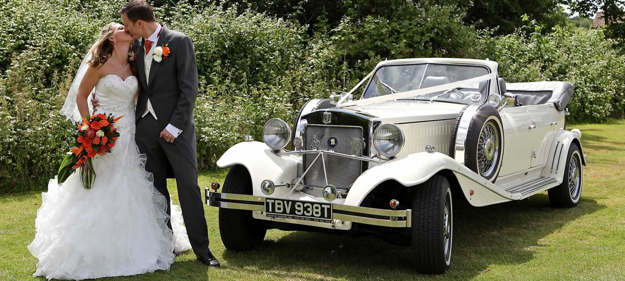 Classic Beauford Wedding Car Hire | Limousines in London