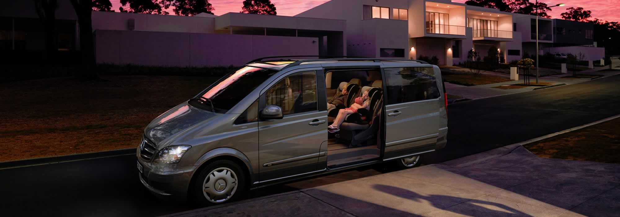 Mercedes Viano Hire London