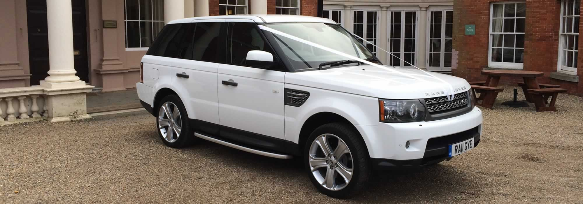 Range Rover Car Hire East London