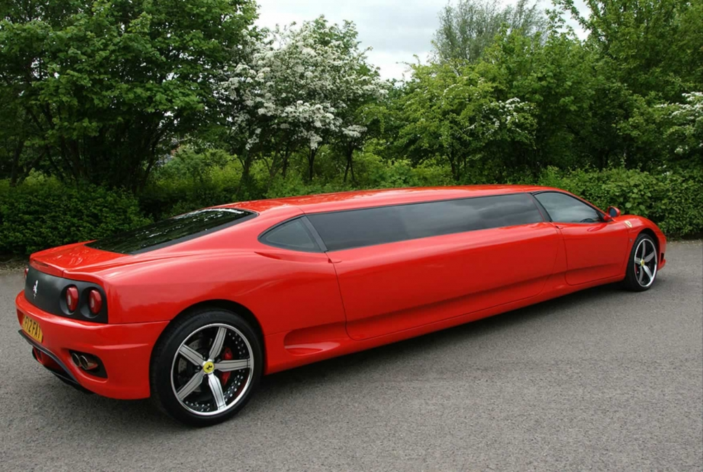 7 Passenger Red Ferrari Limo From Limousines In London